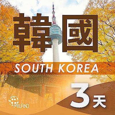 【PEKO】韓國上網卡 3日高速4G上網 無限量吃到飽 優良品質 快速到貨