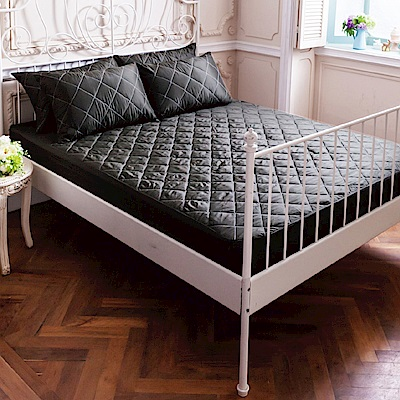 La Lune 軒S防汙防潑水鋪棉加厚雙人加大床包式保潔墊(含枕墊) 多色可選