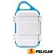 美國 PELICAN G10 GOCASE 微型防水氣密箱-(白藍) product thumbnail 1