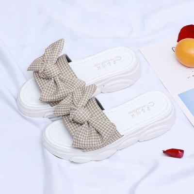 KEITH-WILL時尚鞋館 好感印象舒活特質厚底涼鞋 杏
