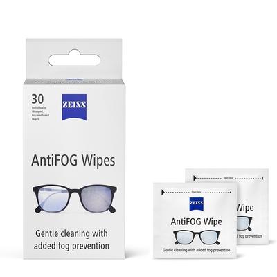 蔡司 Zeiss AntiFog Wipes 專業光學清潔防霧拭鏡紙 30張
