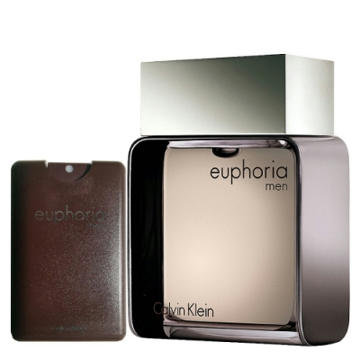 Calvin Klein Euphoria 誘惑男性淡香水 100ml+20ml 無外盒