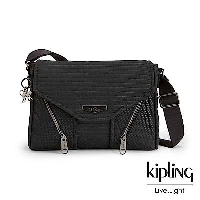 Kipling 斜背包 復古奘黑-小