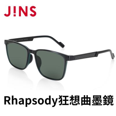 JINS Rhapsody 狂想曲BLACK ADVENTURE墨鏡(AMRF21S041)深藍綠