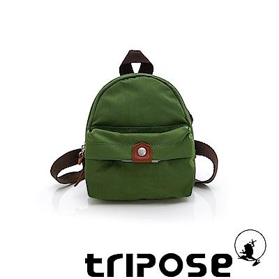 tripose MEMENTO系列尼龍輕量防潑水寵物背包-草綠