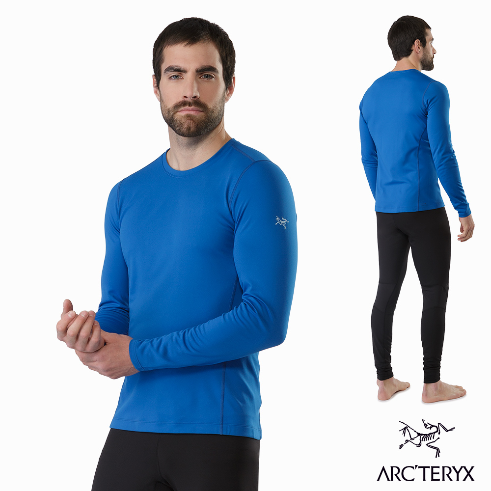 Arcteryx 男 Phase AR 保暖 抗臭 內層圓領衫 恆星藍 @ Y!購物