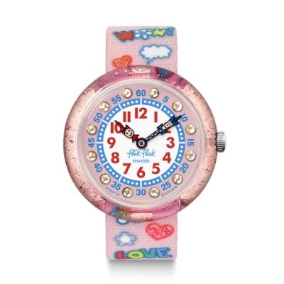 FlikFlak 兒童錶 WOW LOVE 就是愛-31.85mm