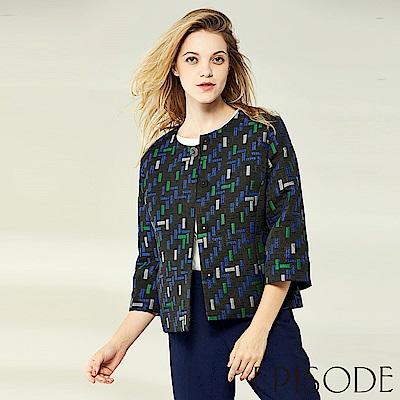EPISODE - 經典幾何造型開襟衫