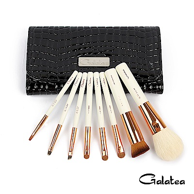 Galatea葛拉蒂 金顏短柄系列 8支裝頂級彩妝刷具組