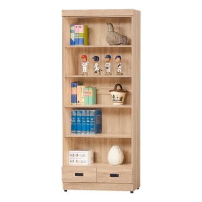 AS-法蘭克有抽書櫥-79.5x32x184.5cm