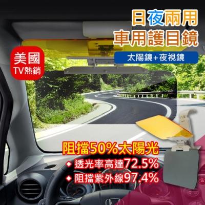 【溫潤家居】美國TV熱銷車用防眩光護目鏡 汽車遮陽鏡