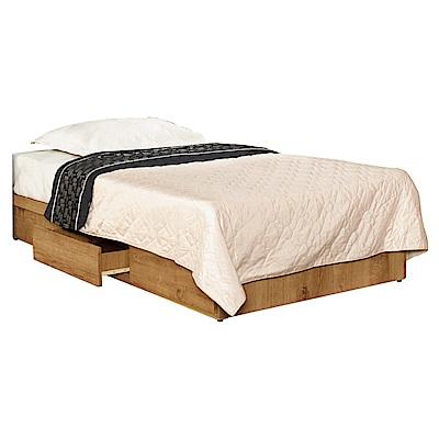 文創集 艾亞倫時尚3.5尺單人三抽床底-106x187x25.5cm免組