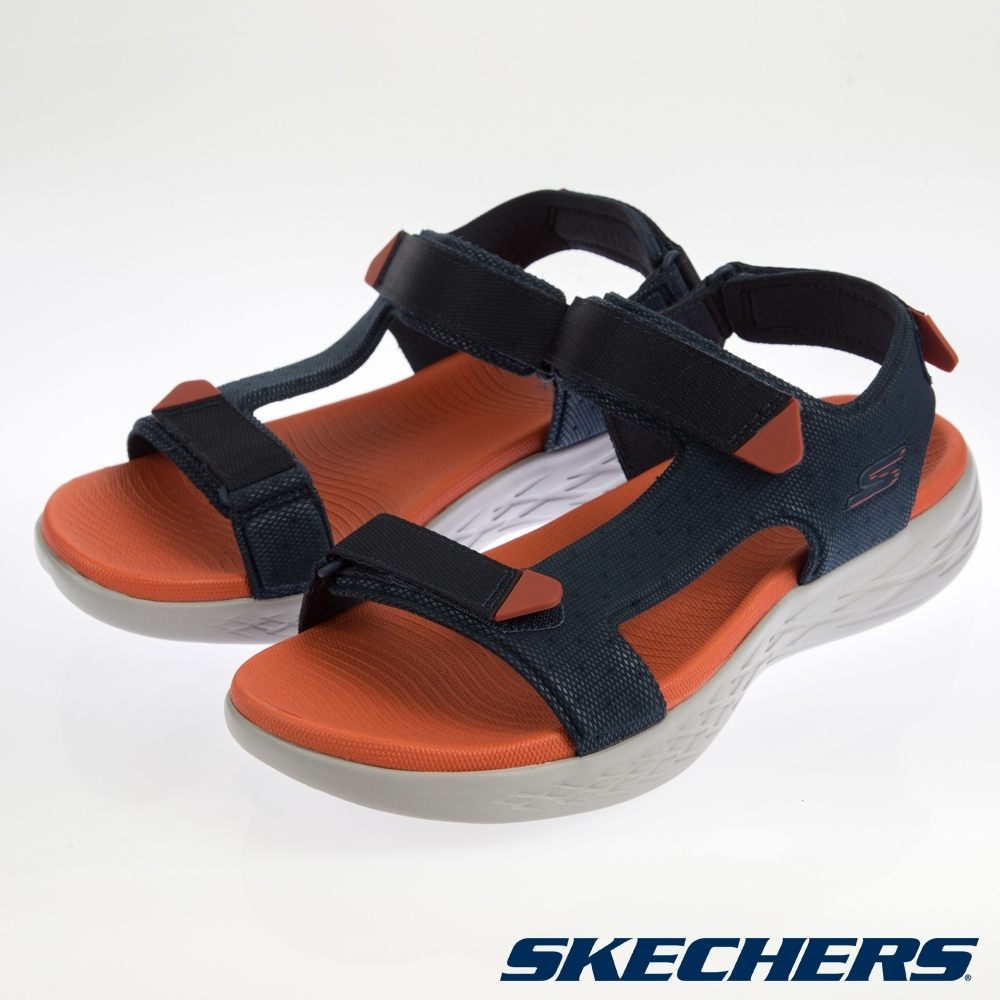 SKECHERS 男健走系列 涼拖鞋 ON THE GO-55383NVOR