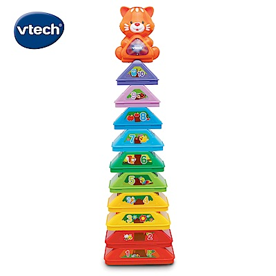 【Vtech】智慧探索疊疊樹
