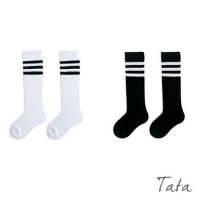 童裝 經典條紋長襪 共三色 TATA KIDS