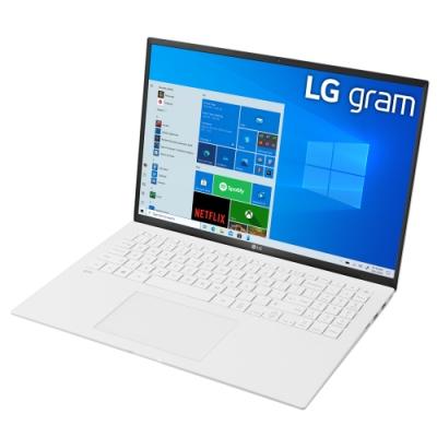 【LG 樂金】Gram Z90P 16吋筆電-白色(i5-1135G7/16G/512G NVMe/WIN10/16Z90P-G.AA54C2)