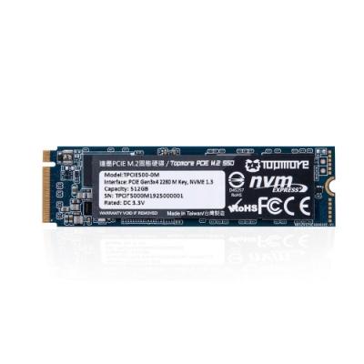 達墨 TOPMORE PCIE M.2 SSD 內接式硬碟512GB