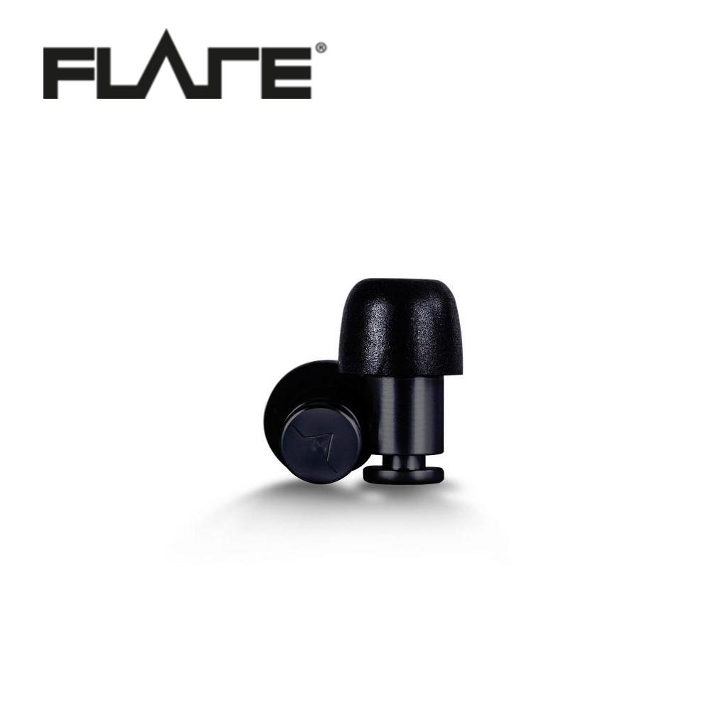 Flare Isolate 系列鋁製專業級英國防躁耳塞 黑色款