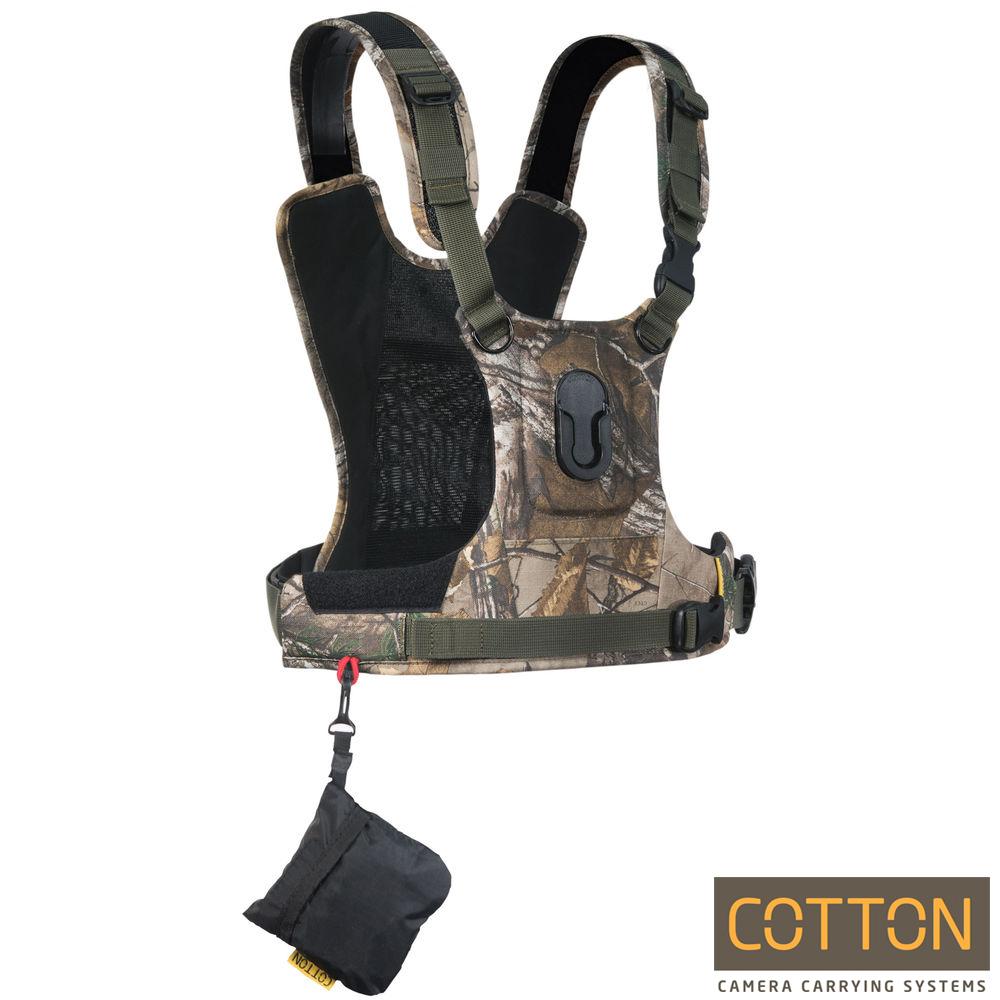 Cotton Carrier CCS G3 快取攝影背心-HARNESS-單機(迷彩)