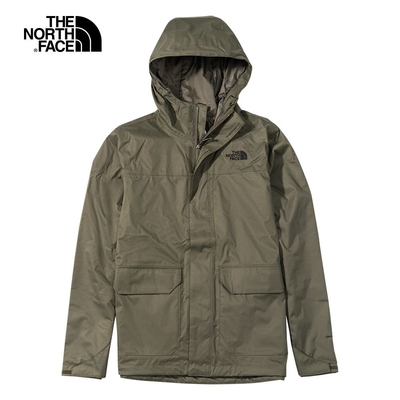 The North Face M MFO LIFESTYLE ZIP-IN JACKET 男 防水外套 綠-NF0A4NED21L