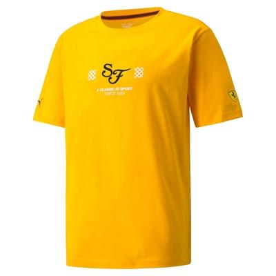 【PUMA官方旗艦】法拉利車迷系列Statement短袖T恤 男性 53164706