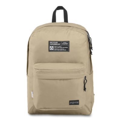 JanSport 環保材質校園背包(RECYCLED SUPERBREAK)-奧伊斯特