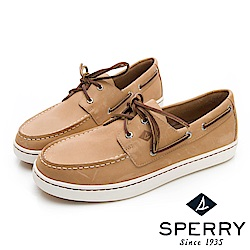 SPERRY 紳士風尚時尚經典帆船鞋(男)-淺棕