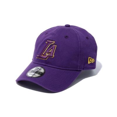 New Era x XLARGE x NBA 9FORTY棒球帽湖人隊 紫