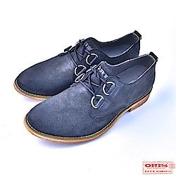 ORIS  男款 復古雅痞 簡約真皮 休閒鞋 S8208C01