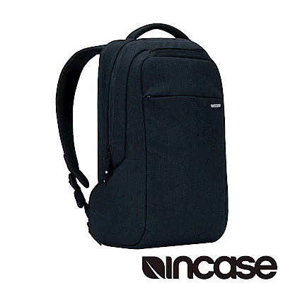 INCASE ICON Slim Pack15吋 舞龍面料輕巧筆電後背包 (亞麻深藍)