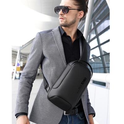 leaper 簡潔時尚立體USB充電單肩包胸包 共4色