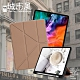 CITY 城市風 for iPad Pro 12.9(2020)/(2018) 共用 經典磁吸可三折Y折立架皮套-貴氣金 product thumbnail 2