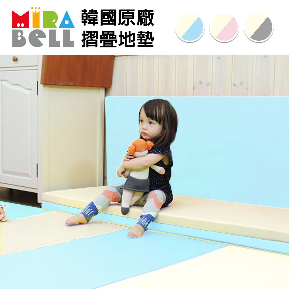 【韓國 MIRABELL】 兒童4cm摺疊地墊-四款任選 (四折折疊地墊/遊戲墊/爬行墊) product image 1