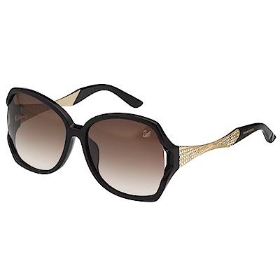 SWAROVSKI 水鑽 太陽眼鏡(黑色)SW9065 @ Y!購物