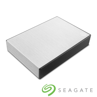 Seagate Backup Plus Portable 4TB 2.5吋外接硬碟-星鑽銀