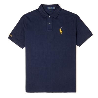 Polo Ralph Lauren 經典電繡標誌Polo衫(Classic)-藍色