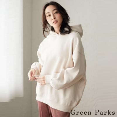 Green Parks 連帽休閒保暖T恤上衣