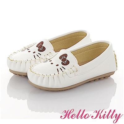 HelloKitty親子鞋童鞋 柔軟減壓防滑休閒鞋-白