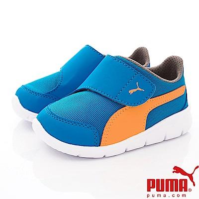 PUMA童鞋 經典慢跑款 ON90943-07藍(小童段)