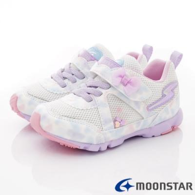 日本月星頂級童鞋 2E競速運動鞋款 NI698紫(中小童段)