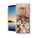 迪士尼授權正版 Samsung Galaxy Note9 繽紛空壓安全手機殼(奇奇蒂蒂)