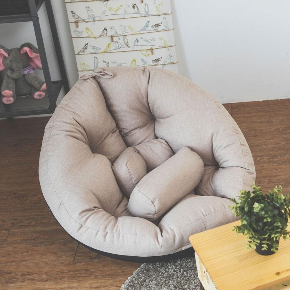 Home Feeling 第二代多功能包覆和室椅/懶骨頭/沙發椅(6色)-75x75x57cm product image 1