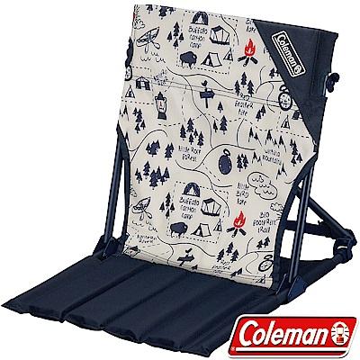 Coleman 34614_露營地圖 緊湊地板椅 戶外野餐椅/低座摺疊椅/露營桌椅