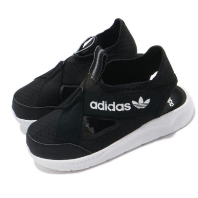 adidas 涼鞋 360 Sandal 套腳 穿搭 童鞋 愛迪達 舒適 輕便 中童 球鞋 黑 白 FX4946