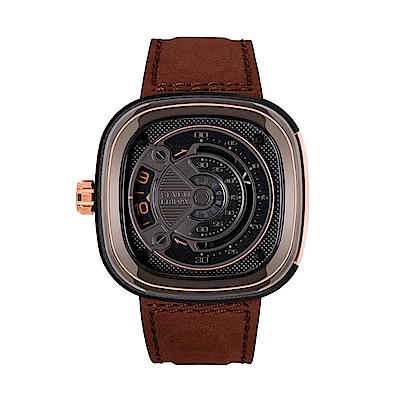 SEVENFRIDAY M2B 潮流新興瑞士機械腕錶