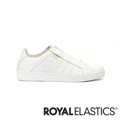ROYAL ELASTICS Icon Genesis 經典白真皮運動休閒鞋 (女) 91994-000