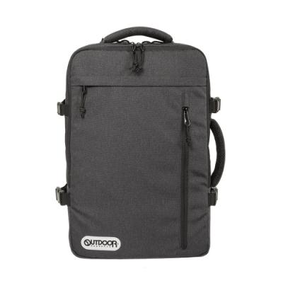 【OUTDOOR】悠遊寰旅-17吋筆電後背包-碳灰色 OD101132CL