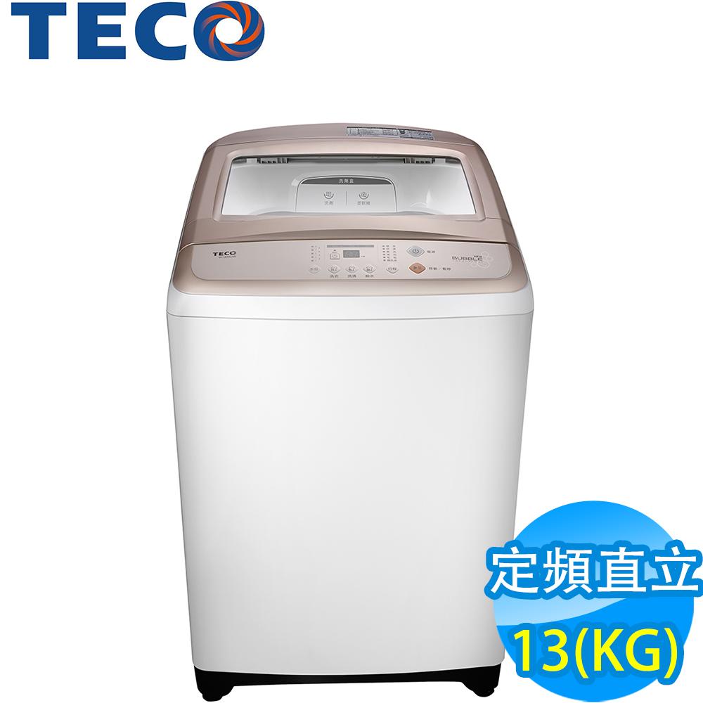 TECO東元13KG 定頻直立式洗衣機 W1308UW