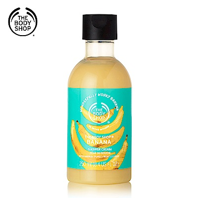 The Body Shop 香蕉滋養沐浴乳250ML