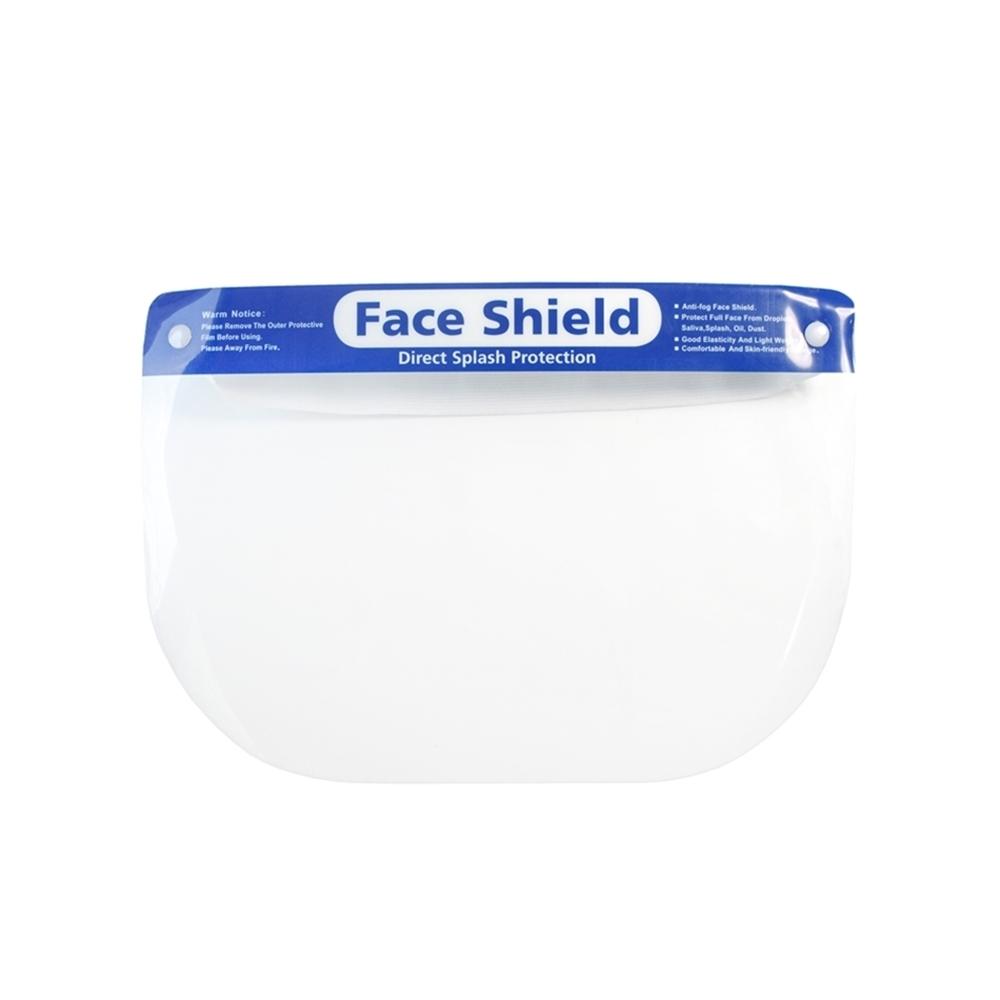 台灣製PHOTOPLY防飛沫透明180度防護面罩防霧防塵罩PFS-01防噴濺面罩(可再戴口罩)適餐飲服務業保全公仔模型噴漆用